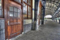 haarlem järnvägstation Arkivfoto