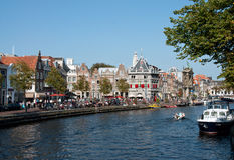 Haarlem na Holanda norte Foto de Stock