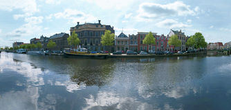 Haarlem panorama Royalty Free Stock Photos