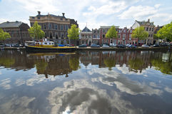 Haarlem on a Sunny Day Royalty Free Stock Photography