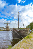 Haarlem view Royalty Free Stock Photography