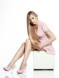Haarschönheit Lizenzfreies Stockfoto