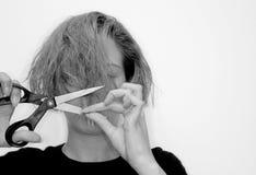 Haarschnitt Stockfoto