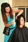 Haarschnitt lizenzfreie stockfotografie