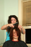 Haarschnitt Stockbild