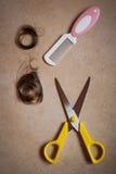 Haarschnittspiel Lizenzfreie Stockbilder