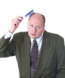 Haarsorgfalt Lizenzfreie Stockfotos