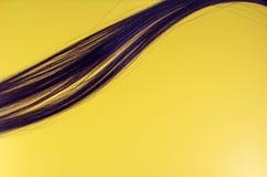Haarsträhnepop-art lizenzfreies stockfoto