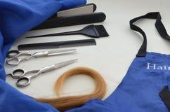 Haartoebehoren voor kapsels stock foto