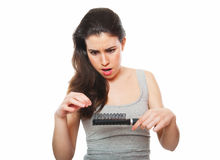 Haarverlust Lizenzfreie Stockbilder
