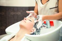 Haarverzorging Stock Fotografie