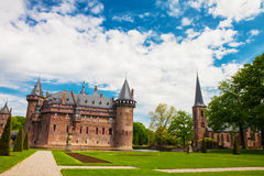 HAARZUILENS, ΚΑΤΩ ΧΏΡΕΣ - 18 Μαΐου 2012: Castle de Haar Στοκ Εικόνες