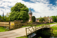 HAARZUILENS, NETHERLANDS - May 18, 2012: Castle de Haar Royalty Free Stock Image