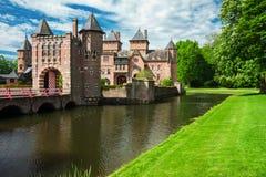 HAARZUILENS, NETHERLANDS - May 18, 2012: Castle de Haar Stock Photo