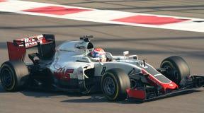 Haas Ferrari VF-16 Grand prix F1 2016 Photographie stock libre de droits