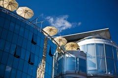 Haas Haus, Fassade Österreich, Wien Lizenzfreies Stockfoto