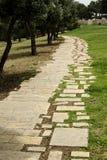 The Haas Promenade stone walkway Royalty Free Stock Image
