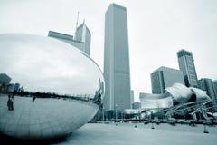 Haba de Chicago Imágenes de archivo libres de regalías