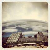 Haba de Chicago Imagen de archivo libre de regalías