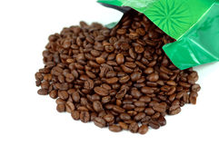 Haba de Coffe Imagen de archivo libre de regalías