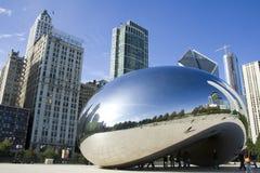 Haba de la plata de Chicago Fotografía de archivo