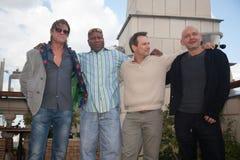 Haba de Sean, Christian Slater y M. Korostishevsky. Fotografía de archivo libre de regalías