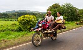Habal-Habal aux Philippines photographie stock libre de droits