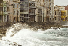 Habana,cuba.hurricane Royalty Free Stock Images