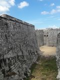 Habana Fortress. Morro Castle Spanish: Castillo de los Tres Reyes Magos del Morro, named after the three biblical Magi, is a fortress guarding the entrance to Stock Images