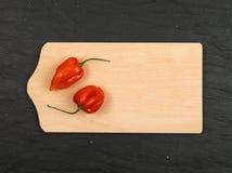 Habanero перца Chili Стоковое Изображение RF