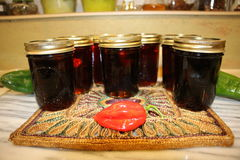 Habanero Maple Syrup royalty free stock photography