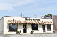 Habaneros Mexican Restaurant, Coldwater, Mississippi. Habaneros in Coldwater, Mississippi is a Mexican restaurant and cantina serves fines Mexico inspired stock image