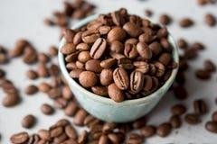 Habas de Caffe, caffe, bebida, café, café express, Imagen de archivo