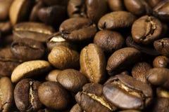 Habas de Cofee Foto de archivo libre de regalías