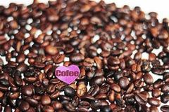 Habas de Cofee Fotografía de archivo