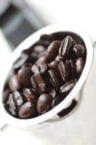 Habas del café express Imágenes de archivo libres de regalías