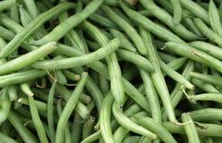 Habas verdes Foto de archivo