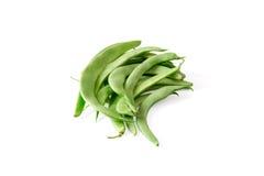 Habas verdes frescas imagenes de archivo
