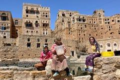 Crianças iemenitas imagem de stock