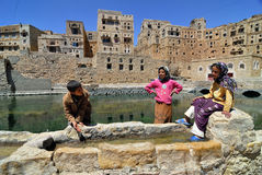 Yemen, Habbabah village Royalty Free Stock Photo