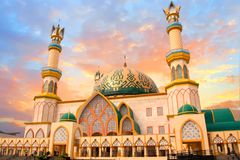 Free Habbul Wathan Mosque In Lombok Indonesia Royalty Free Stock Photo - 101204585