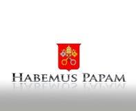 Habemus papam. Royalty Free Stock Image