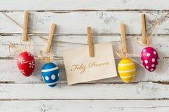 Haben Sie ein ruhiges Ostern! Stockfotografie