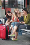 Haben Sie Spaß beim Reisen Lizenzfreie Stockfotos