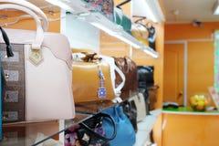 Haberdashery with goods Stock Photo
