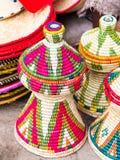 Habesha baskets Stock Photography