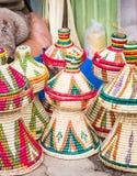 Habesha baskets Royalty Free Stock Photos