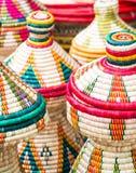 Habesha baskets Royalty Free Stock Photo