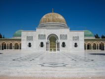Habib布尔吉巴陵墓。 Monastir。 突尼斯 图库摄影