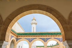 Habib Bourguiba Mausoleum stockfotos